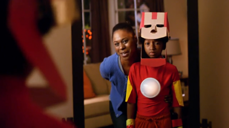Mom made Iron Man Halloween costume