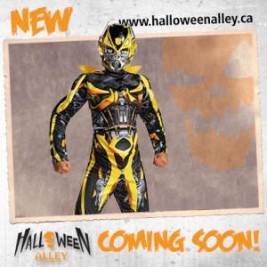 Halloween Alley Transformers Bumblebee Costume