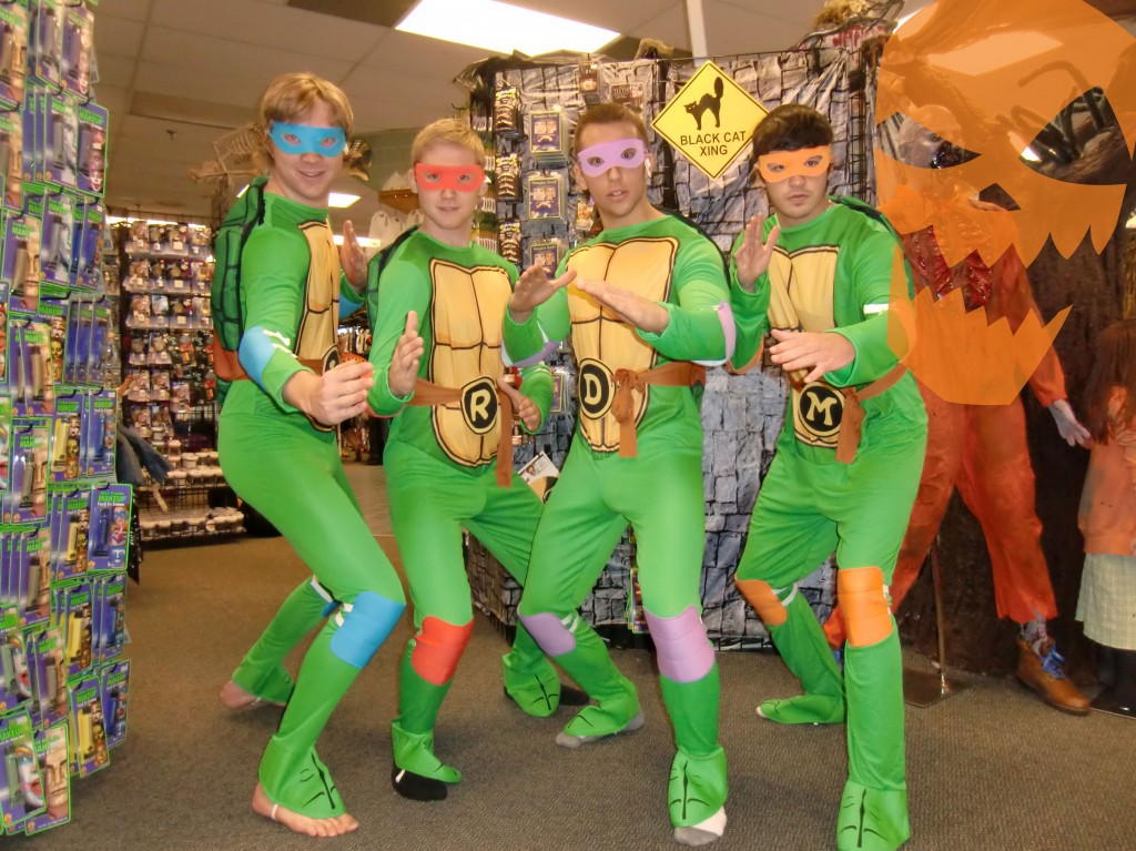 Teenage Mutant Ninja Turtles costumes canada