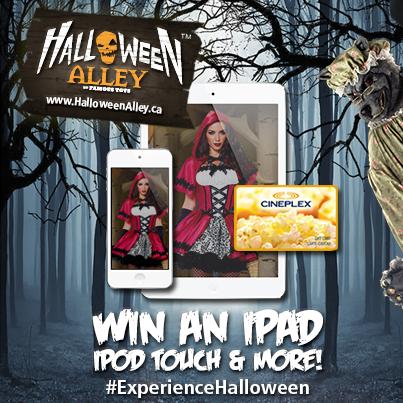 halloween store costume contest