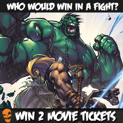 The Hulk vs Thor