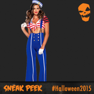 Halloween costumes 2015 - sailor girl - womens Halloween costume