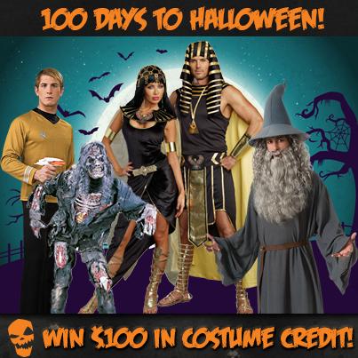 100 Days Until Halloween