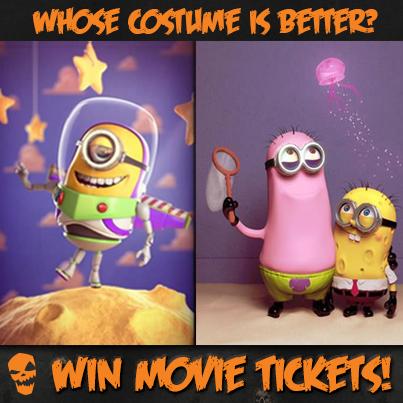 Minions in Spongebob Costume