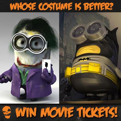 Minions in Batman Costume