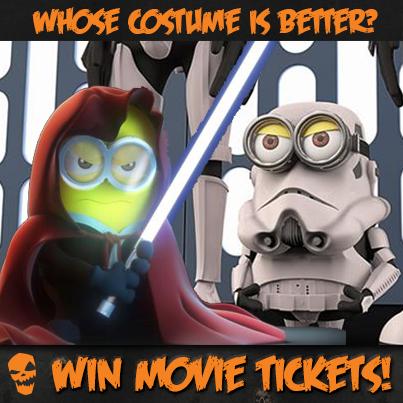 Minions in Star Wars Costume