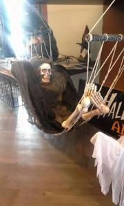 Skeleton Halloween Decoration in Barrie