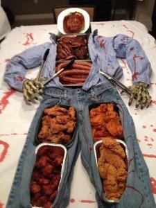 Edible Man Halloween Party Hack