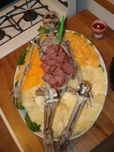 Skeleton Halloween Dip