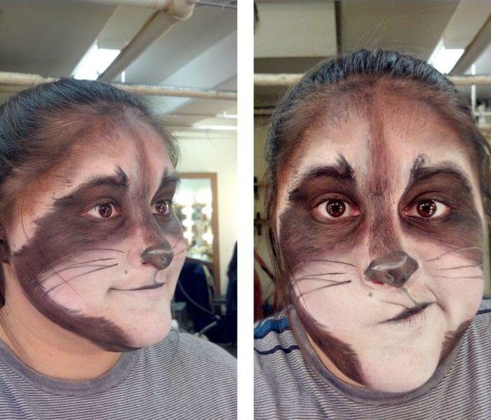 Beaver Face Paint