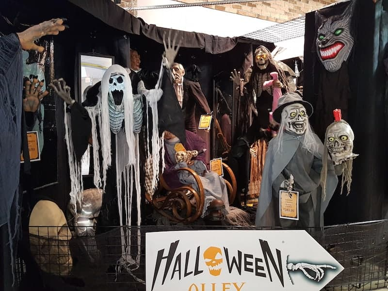 Halloween Alley store