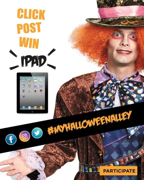 Halloween Alley ipad contest