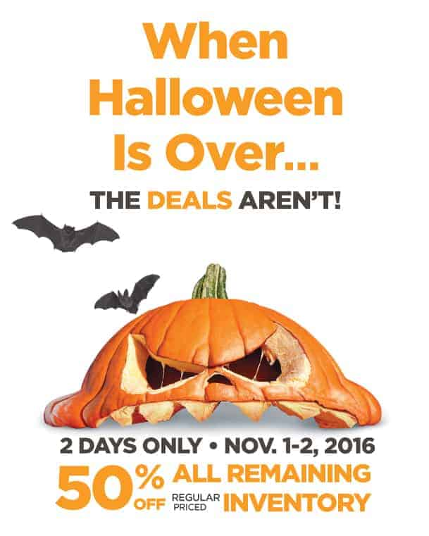 Halloween Alley sale