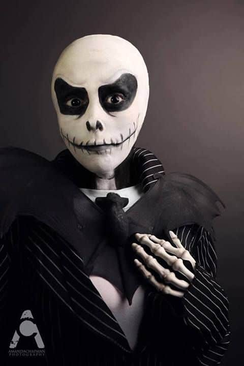 Jack Skellington Makeup Halloween
