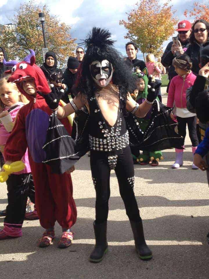 halloween kid kiss costume