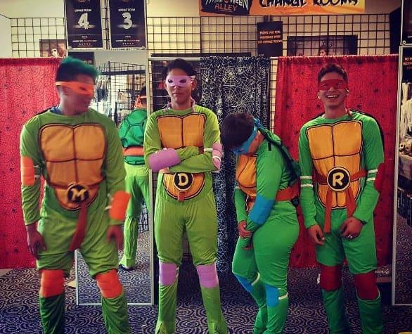 ninja turtle halloween