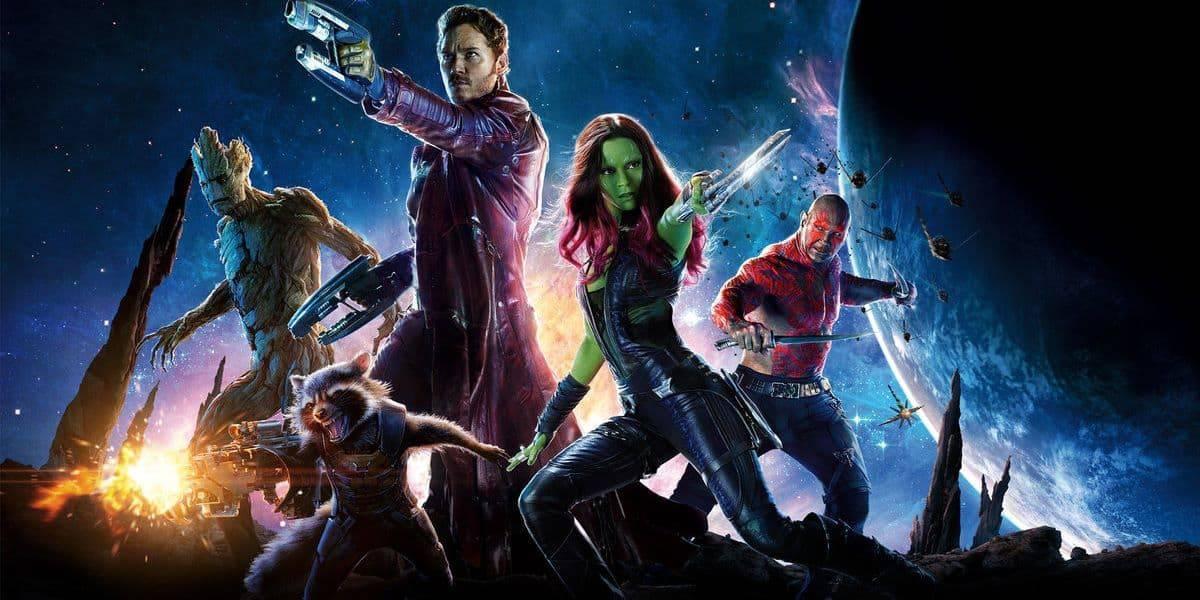 Guardians of the Galaxy 2 Star lord drax gamora groot and rocket raccoon