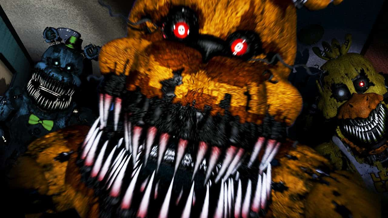 Five Nights At Freddys Animatronics