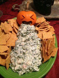 Puking Halloween Pumpkin