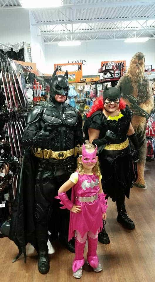 Family Batman Halloween Costumes