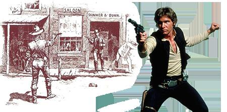 Han Solo Costume Wild West