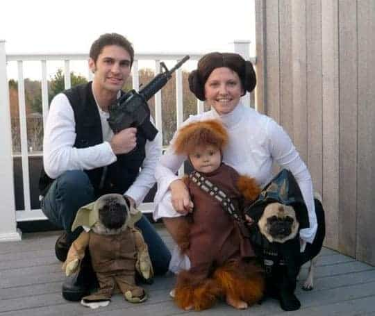 Star Wars Family Halloween Costume