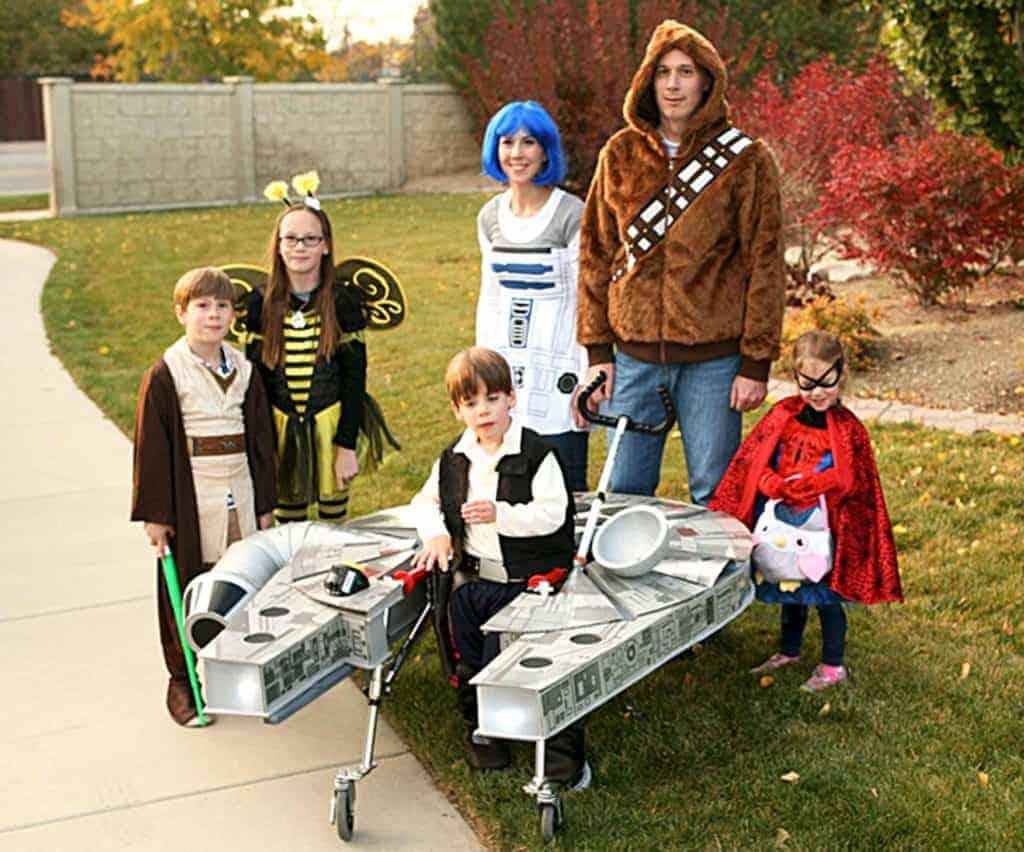 Star Wars Halloween Family Costume