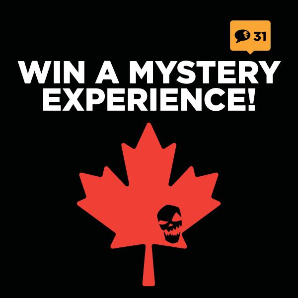 Win A Halloween Experience