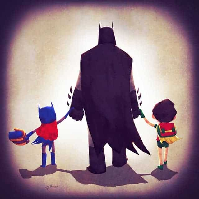 batman father