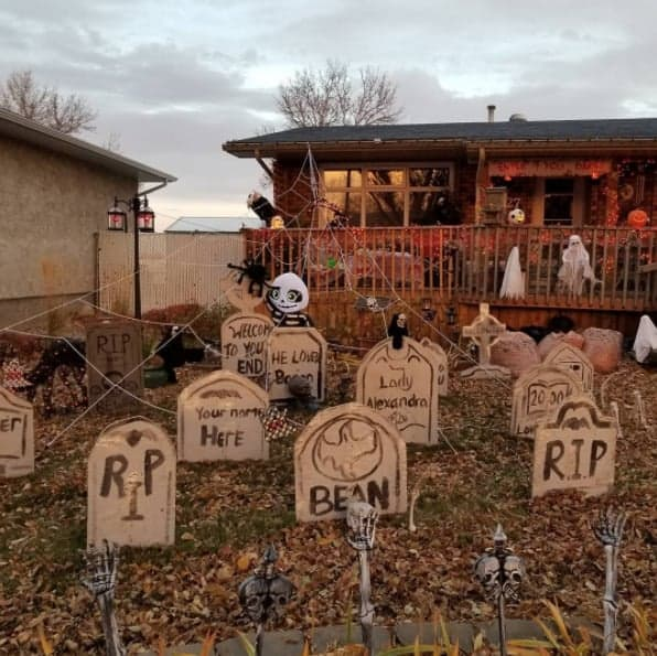Best Halloween Decorated Home