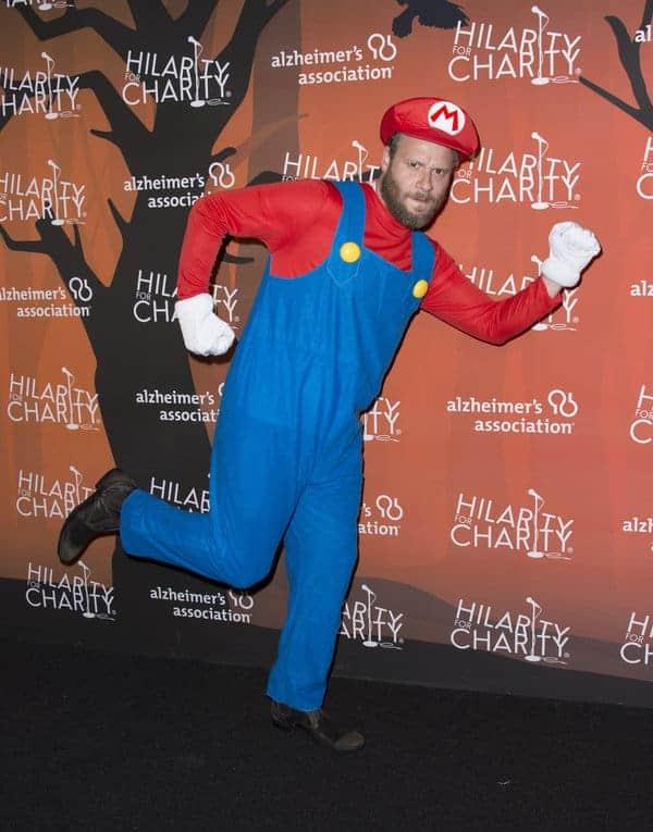 Seth Rogen Mario costume
