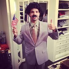 Drake's Borat costume