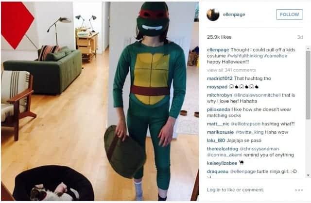 Ellen Page TMNT costume