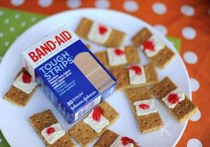 Halloween Cracker Band-Aids