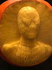 spiderman-pumpkin-carving