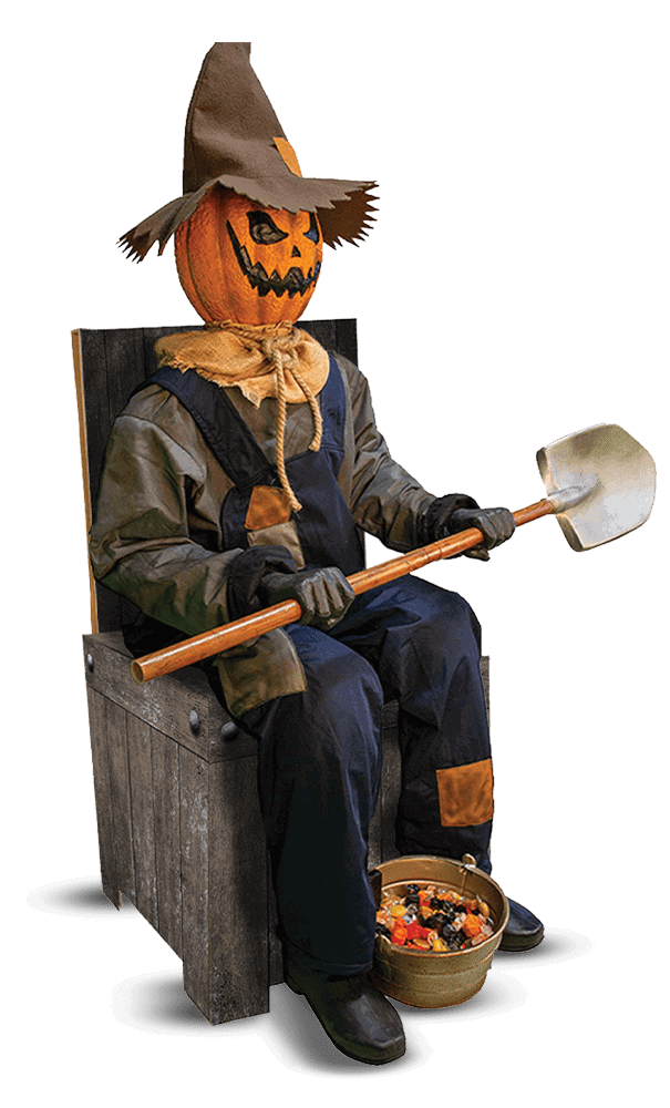 Scarecrow Halloween Decor
